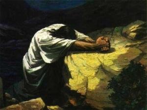 David Praying